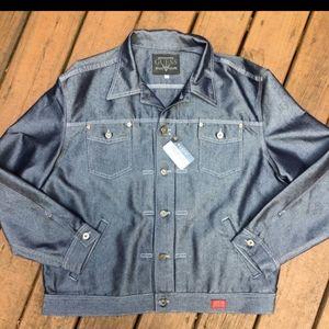 Men's big&tall Guess denim jacket